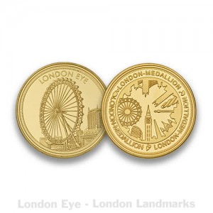 London Eye Gold
