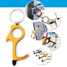 5 x Stay-Safe Keyrings